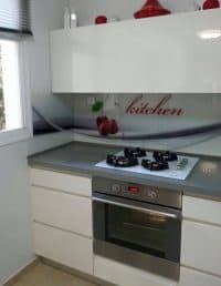 חיפוי קיר למטבחים